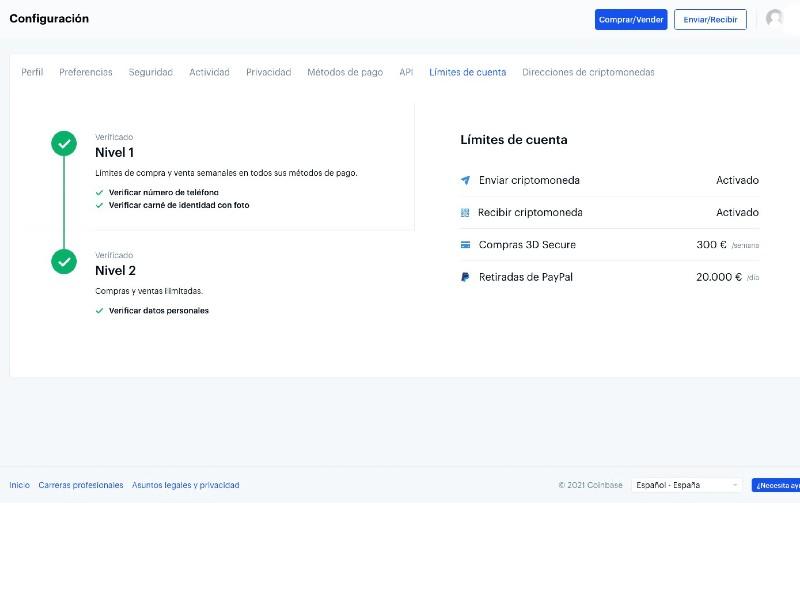 guia completa coinbase en castellano
