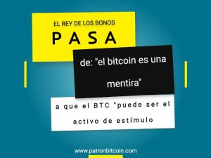 El rey de los bonos pasa de «el bitcoin es una