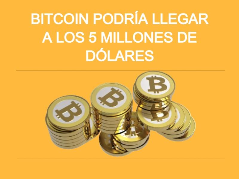 precio bitcoin 5 millones de dolares