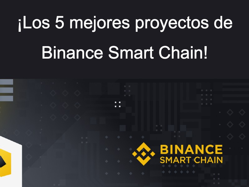 top 5 proyectos de Binance Smart Chain