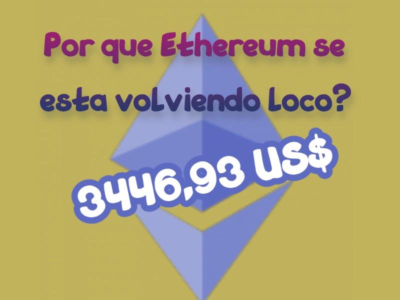 Ethereum subiendo