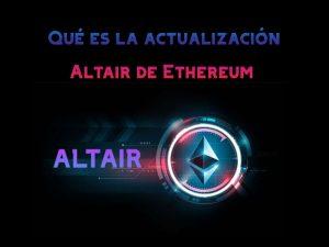 Altair de Ethereum